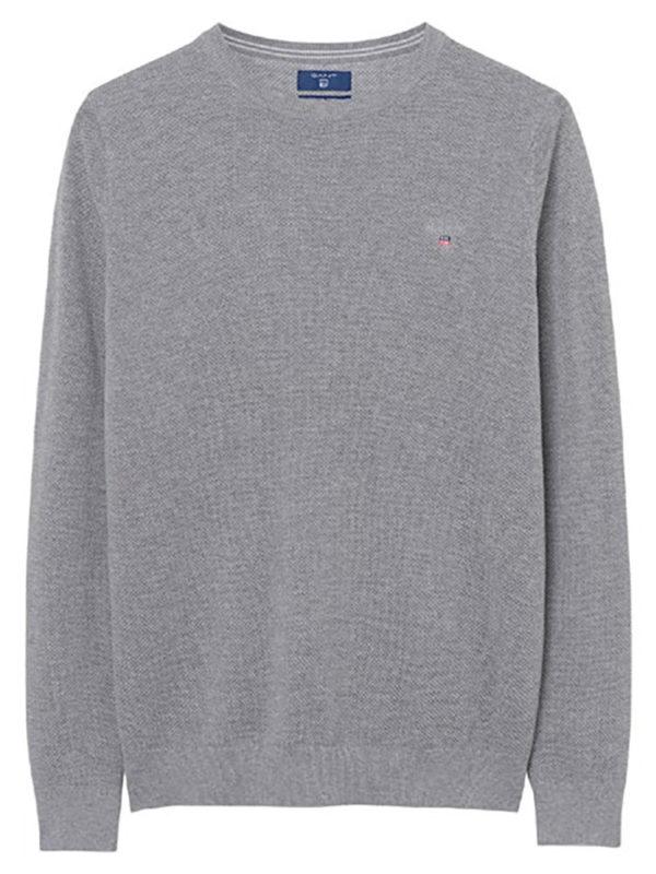 80021 Piqué Crew Sweater 92